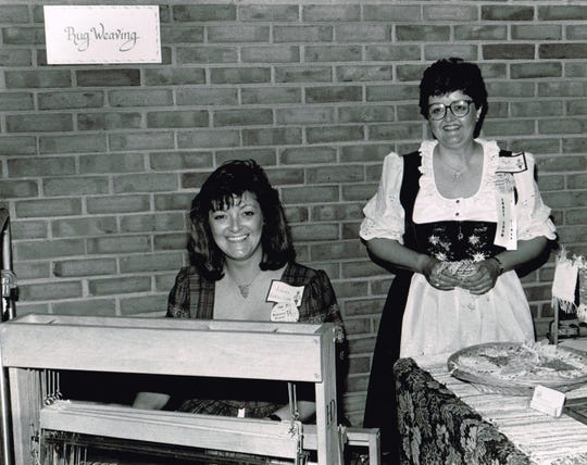 Linda Durtschi, left, with her sister, Pat.