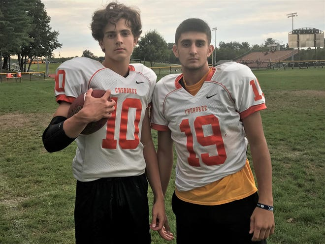 Cherokee quarterback Billy Osborn and wide receiver Caden Burti have each returned to the team after missing all of last season with significant injuries.