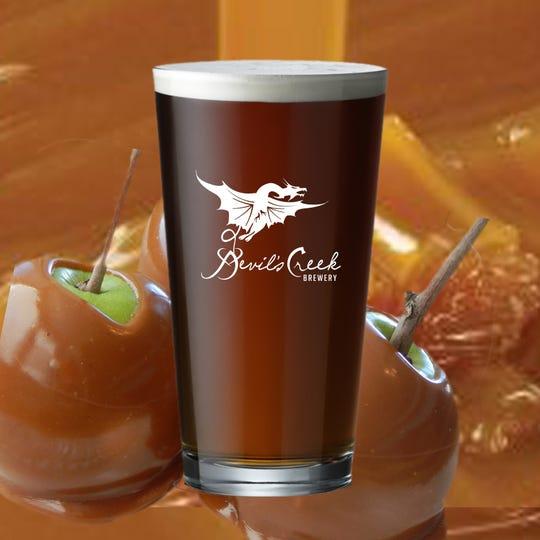 Devil's Creek celebrates the season with Caramel Apple Brown Ale.
