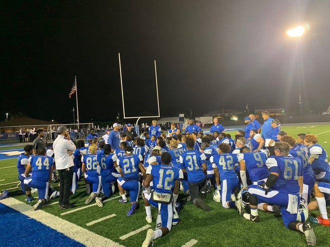 The Nate Mahon era at Hamilton is off to a 2-0 start. The Big Blue finished just 1-9 last season, but the first-year head coach has the team believing it can be victorious in one of the hardest public leagues in the state.