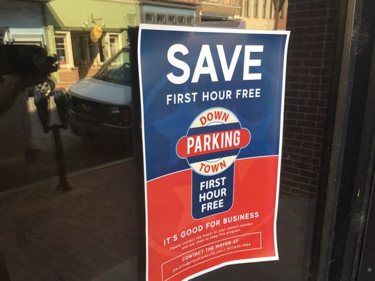 A campaign to save one hour free parking in downtown Clarksville is under way.