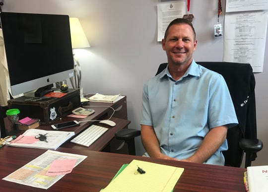 Peter Fingerlin is the new principal at School No. 2 in Linden after having served for three years as principal of McManus Middle School.