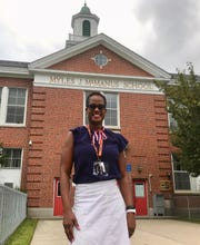 Atiya Perkins has taken the helm as principal of McManus Middle School in Linden after serving three years as principal of School No. 2.