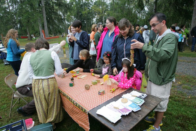 Volunteers are needed for the Somerset County Park Commission Environmental Education Center 1770s Festival on Sunday, Oct. 6.