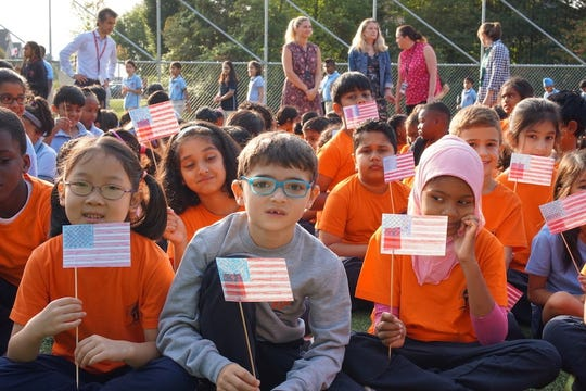 Patriot Day, Remembrance of 9/11 at Thomas Edison EnergySmart Charter School.