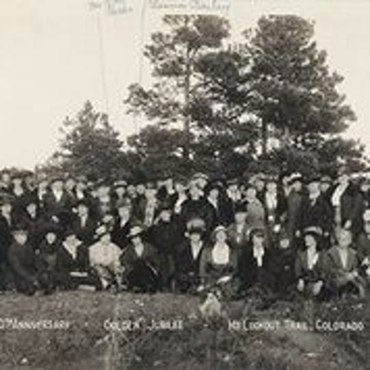 The 1919 convention of P.E.O., an organization found by Iowa Wesleyan student in 1869 and continues to support women in higher education today.