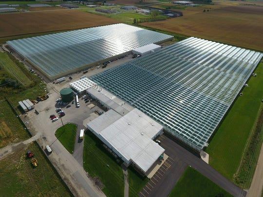 Bushel Boy Farms' Minnesota Greenhouses