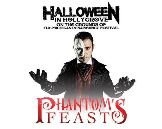 Come eat with the Phantom of the Opera!