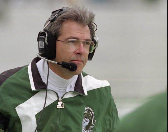 Former MSU head football coach Nick Saban.