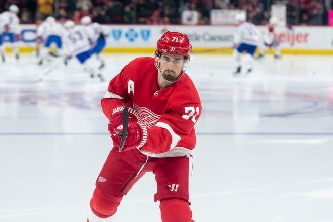 Forward Dylan Larkin is one of four alternate captains for the Red Wings, head coach Jeff Blashill said Thursday.