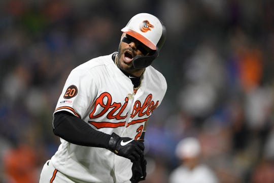 Baltimore's Jonathan Villar connected for the 6,106th homer in the majors this season. That topped the mark of 6,105 set in 2017.