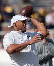 Michigan offensive coordinator Josh Gattis has said he will be calling all of the plays in the Wolverines offense, but head coach Jim Harbaugh likely has input.