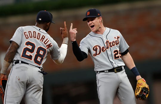 Niko Goodrum and Gordon Beckham