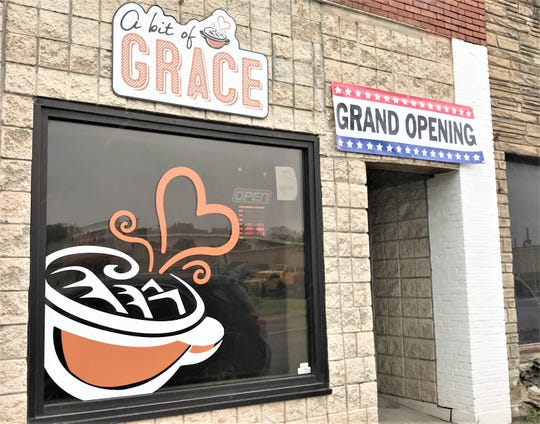 A Bit of Grace, a new restaurant, recently opened on South Main Street in Elmira.