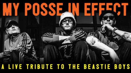 My Posse in Effect, a Beastie Boys tribute act, will play the Bokeh Lounge in Evansville this weekend.