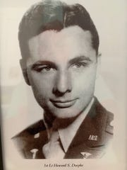 """""""Each time I perform I think of him and his service to America,"""" Jim """"Mr. Trumpet"""" Doepke, said of his father, Howard Doepke, who served in World War II and died in 2018 at the age of 103. Doepke is attempting to perform the anthem at every major league baseball park in America."""
