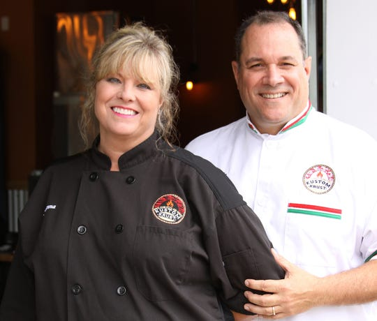 Kustom Krust owners Suzanna and Mike Culp
