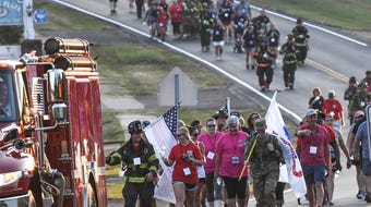 Belton and Rock Springs fire 5th Walk To Remember 911