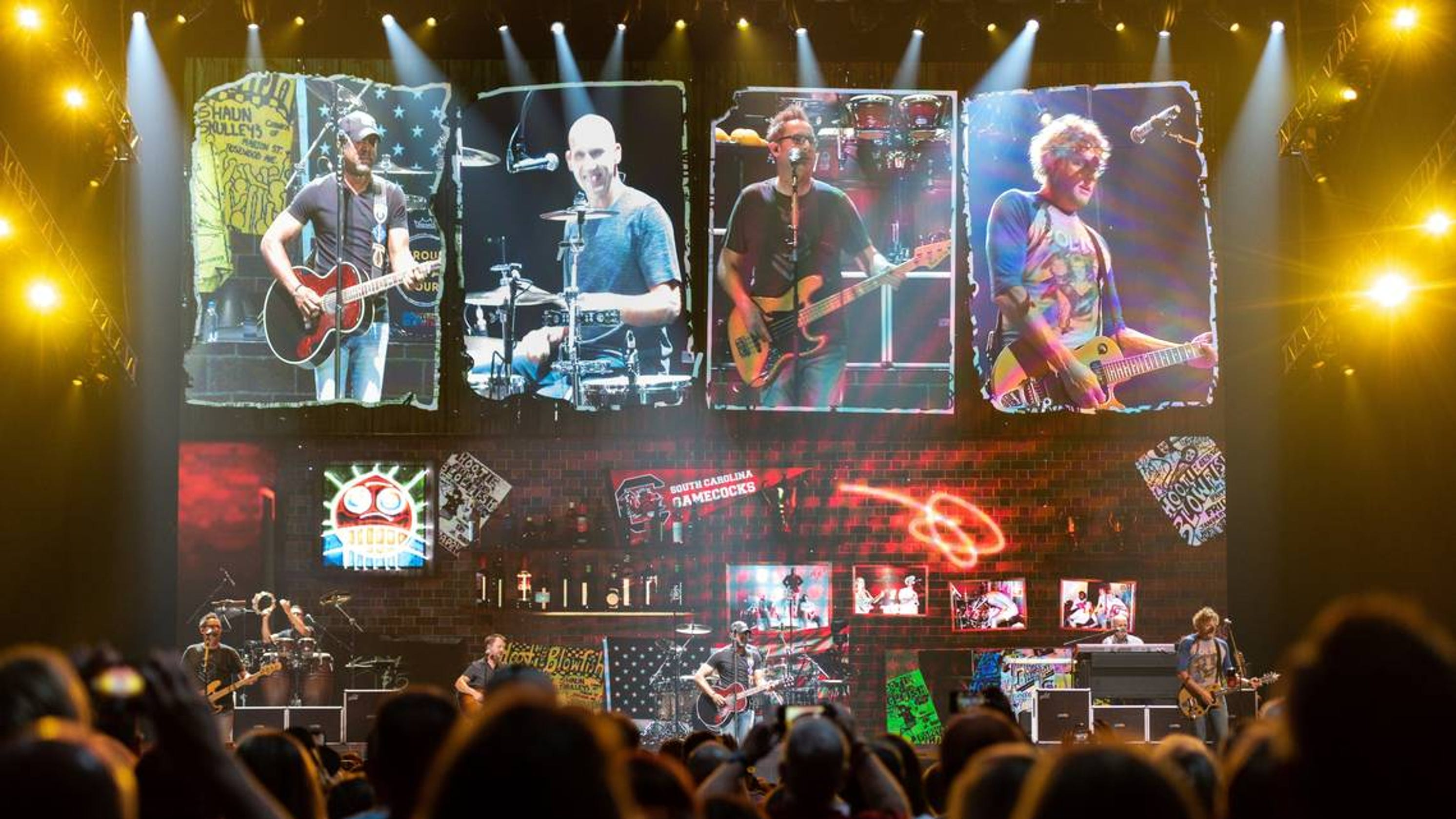 Hootie The Blowfish Rocks A Hometown Crowd During Columbia