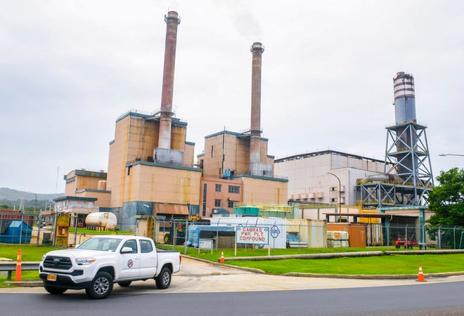 The Guam Power Authority Cabras Power Plant in Piti  pictured in this PDN file photo.