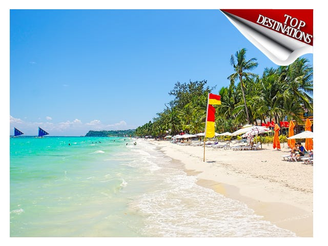 Boracay is one of the Philippines' top destinations