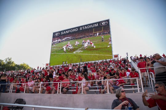 Georgia's Sanford Stadium will add capacity to accommodate the huge crowd expected for Notre Dame's visit in a few weeks.