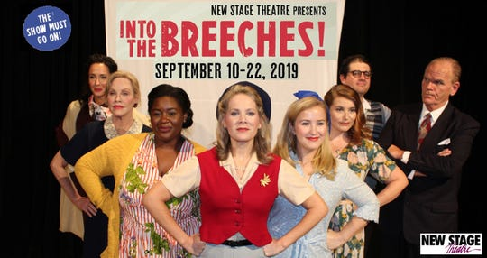 "New Stage Theatre has opened it's 54th season with the regional premiere of ""Into the Breeches!"" The comedy began performances on Tuesday and the show will run through Sept. 22."