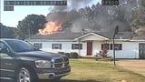 Madison County Fire Department released footage of its team fighting a blaze at a Medon, Tenn. residence on Sept. 9, 2019.