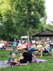 "Families enjoy the 2018 summer concert series at Fountain City Park. ""It helps us get new members, too; it's been good for the FC Lions Club,"" said member Penny Kleinschmidt. ""It helps us raise money; we need the money desperately, and it helps tell people what the Lions Club does."""