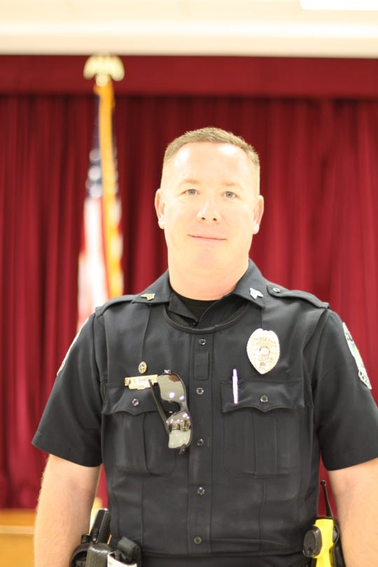 """Knoxville Police Department Sgt. Shawn Shreve was asked at the Sept. 11 Fountain City meeting about any persistent panhandling or homeless issues in the area. """"We chase panhandlers all over town; they often don't want help, and arresting them isn't always the right thing,"""" said Shreve."""