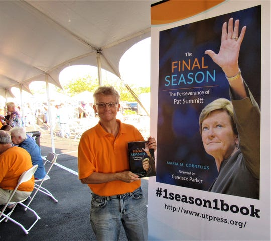 """Covering the Lady Vols since 1998, sportswriter Maria M. Cornelius had a behind-the-scenes perspective on Pat Summitt. They became friends, and in 2016 Cornelius wrote """"The Final Season,"""" chronicling the conclusion of Summitt's coaching career for the Lady Vols."""