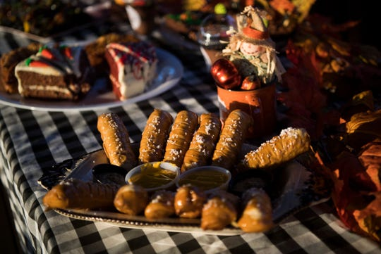 Fall foods are available at Anakeesta in Gatlinburg Wednesday, Sept. 11, 2019. They are offering fall activities including a haunted Hallow Mountain graveyard, zombies zip line, and firefly forest.