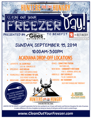Clean out your Freezer Day
