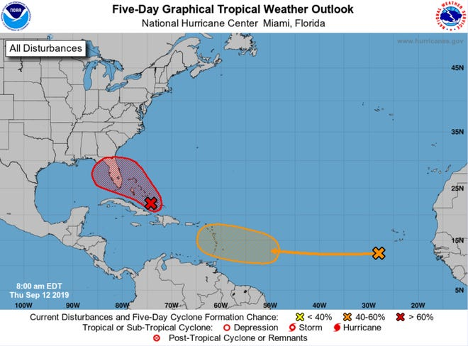 The National Hurricane Center is expecting a tropical system to develop by Friday.