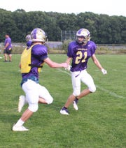 Cornerback Dean Shafer (21) is tied for Fowlerville's team lead with nine tackles through two games.