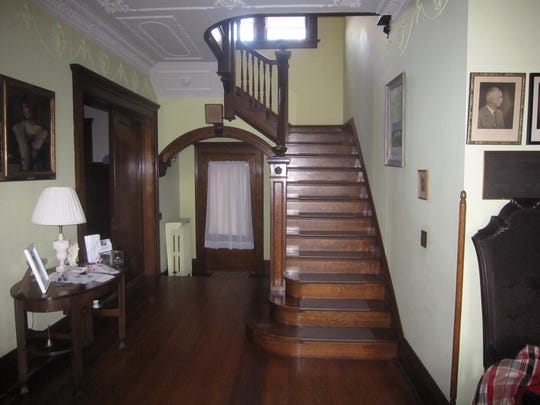 The interior of the Women's Club Home in Marion.