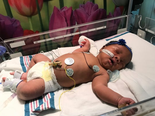 Christina Malone-Brown was born at 9:11 p.m. Sept. 11 at Methodist Le Bonheur Germantown. She weighed 9 pounds 11 ounces. She is the daughter of Cametrione Malone-Brown and Justin Brown.