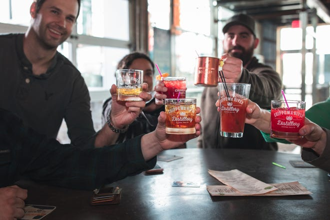 The Chippewa River Distillery and Brewery serves up tasty spirits.