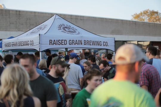 Raised Grain Brewing celebrates four years of brewing but a first for the taproom.