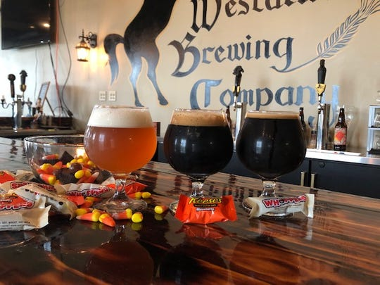 Westallion Brewing in West Allis has created a Trick or Treat Series of Beer with Candy Corn Cream Ale, Peanut Better Porter and Malted Milk Ball Stout.