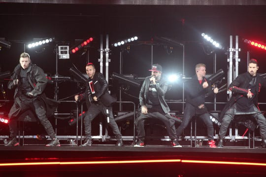 Backstreet Boys bring the hits and the moves to Milwaukee's Fiserv Forum