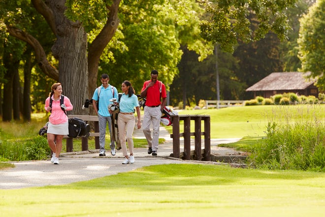 Brown Deer Golf Course is the perfect sign to enjoy the brisk fall weather.