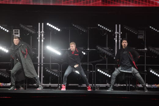 Backstreet Boys are back, and larger than life, at first Milwaukee concert in 14 years
