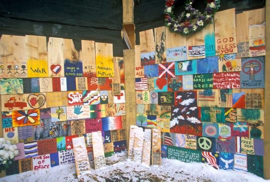 September 11, 2001 Memorial, New York City, NY.