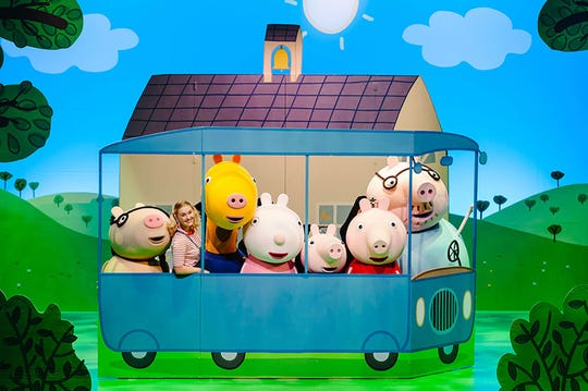 """Peppa Pig Live! Peppa Pig's Adventure"" will be at The Victory in April."