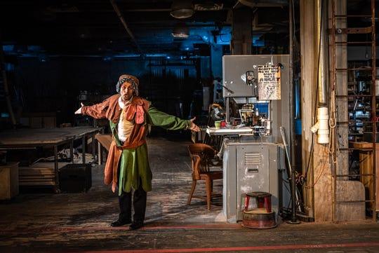 "Zuhdi Boueri plays Hamlet in Alabama Shakespeare Festival's production of ""Buzz."""