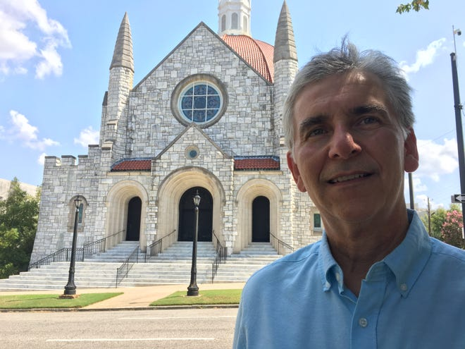 Jay Wolf is the retired pastor of Montgomery's First Baptist Church, where he served for 32 years.
