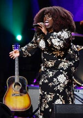 Yola performs at the Americana Music Honors & Awards Wednesday, Sept. 11, 2019 at the Ryman Auditorium in Nashville, Tenn.