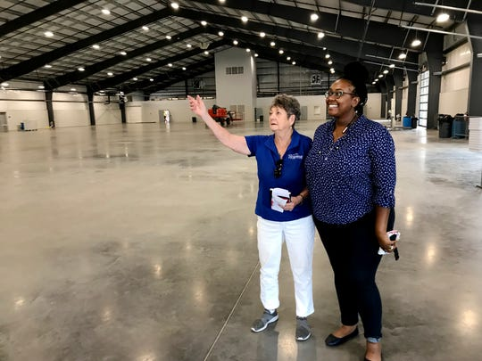 The new Expo Center at Fairgrounds Nashville will be the home of the monthly flea market starting this month.