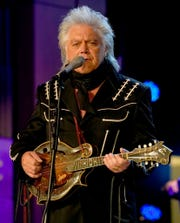 Marty Stuart performs during the first night of his Artist-in-Residence at the Country Music Hall of Fame.